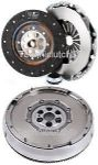 DUAL MASS FLYWHEEL DMF & COMPLETE CLUTCH KIT CITROEN C3 1.6 16V HDI